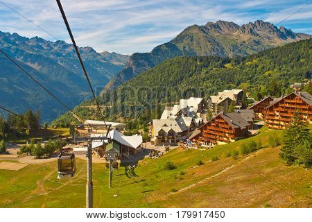 Cable Car French Alps