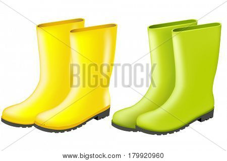 Rainboots Set