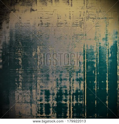 Retro style grunge background, mottled vintage texture. With different color patterns: yellow (beige); brown; blue; gray