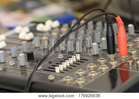 Music control pult
