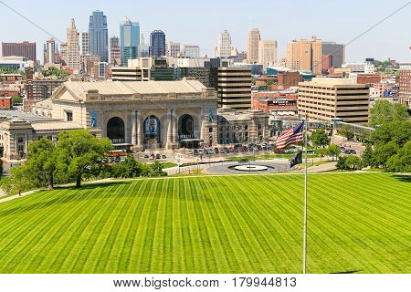 Lawn And Skyline