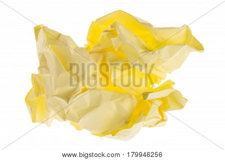 Light Yellow Lump Paper