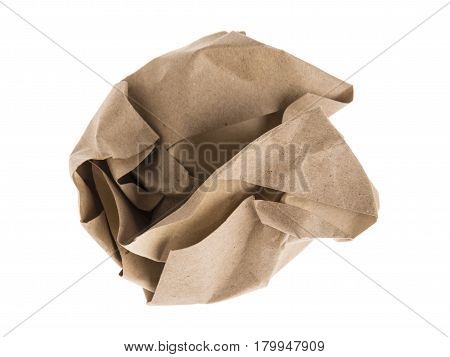 Brown Lump Paper