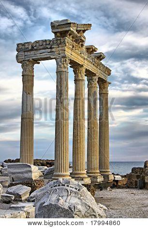 Temple Of Apollo in Side, Turkey