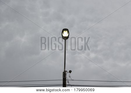 Light In Cloudy