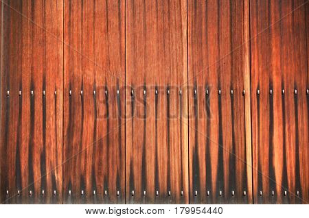 Weathered wooden plank wall background
