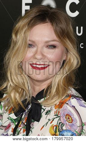 Kirsten Dunst at the CinemaCon 2017 - Focus Features Luncheon And Studio Program Celebrating 15 Years held at the Caesars Palace in Las Vegas, USA on March 29, 2017.