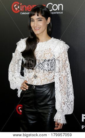 Sofia Boutella at the CinemaCon 2017 - Focus Features Luncheon And Studio Program Celebrating 15 Years held at the Caesars Palace in Las Vegas, USA on March 29, 2017.