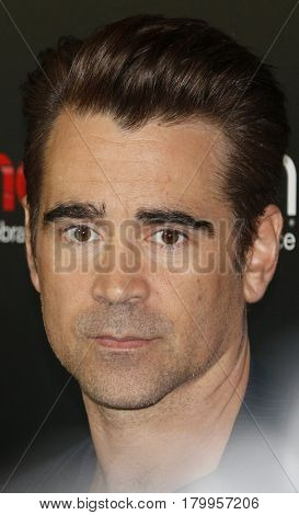 Colin Farrell at the CinemaCon 2017 - Focus Features Luncheon And Studio Program Celebrating 15 Years held at the Caesars Palace in Las Vegas, USA on March 29, 2017.