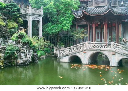 Chinese Traditional Style Garden