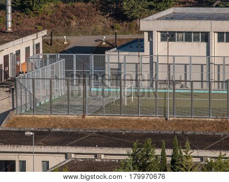 Sports Facilities In A Prison In Italy