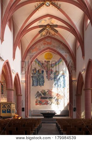 Interior Of The Stiftskirche