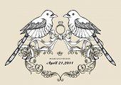 lovely wins birds wallpaper best for wedding invitation card poster