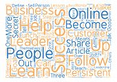 Three Steps To Success Anyone Can Duplicate text background word cloud concept poster