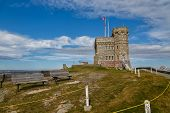 Cabot Tower on Signal Hill, St. John's, Newfoundland, Canada poster