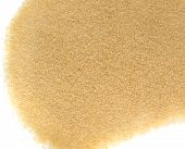 Heap of Dry Small Gelatine Granules or Powder. Gelling Agent for Food and Photography poster