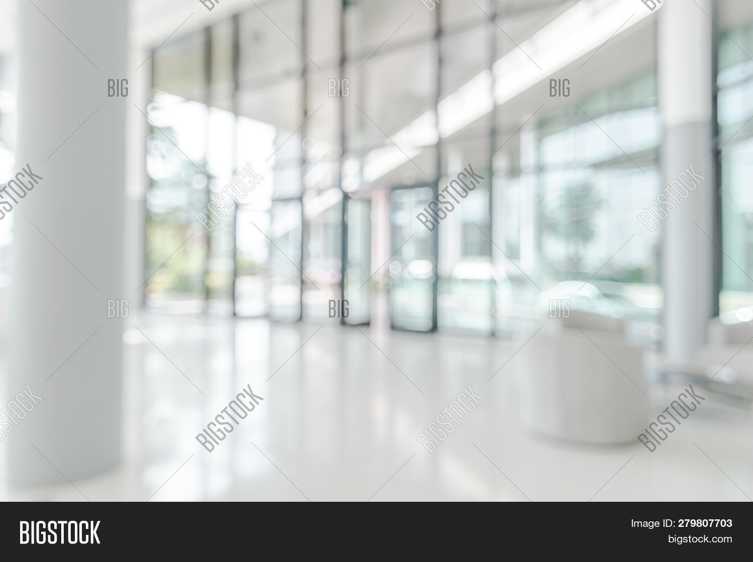 Blur Office Background Image Photo Free Trial Bigstock