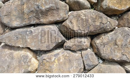 Texture, Background, Large Rocks, Rock Wall, Boulders