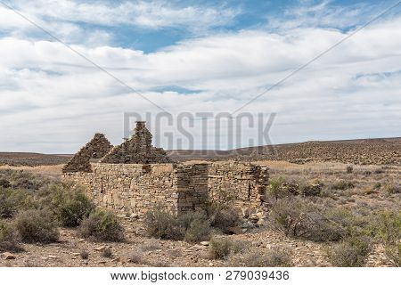 A Ruin Near Middelpos In The Northern Cape Province Of South Africa