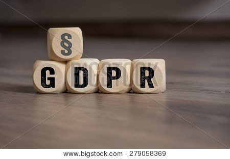 Cubes And Dice General Data Protection Regulation Gdpr Dsgvo