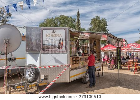 Williston, South Africa, August 31, 2018: A Stall At The Yearly Winter Festival In Williston In The