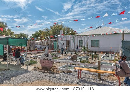 Williston, South Africa, August 31, 2018: A Putt-putt Course At The Yearly Winter Festival In Willis