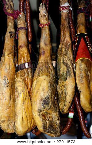 Dry Cured Hams