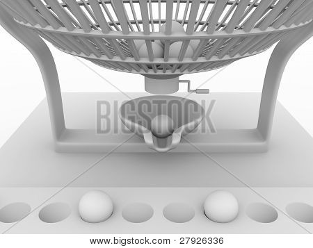 Lottery Cage