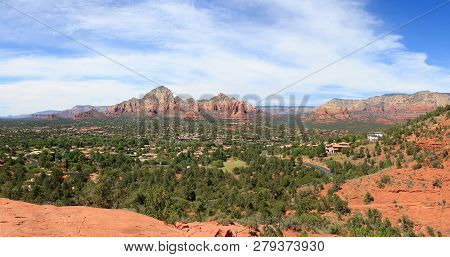 Sedona Arizona In Southwest Usa