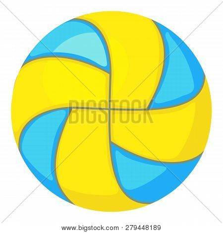 Beach Volleyball Icon. Cartoon Illustration Of Beach Volleyball Icon For Web