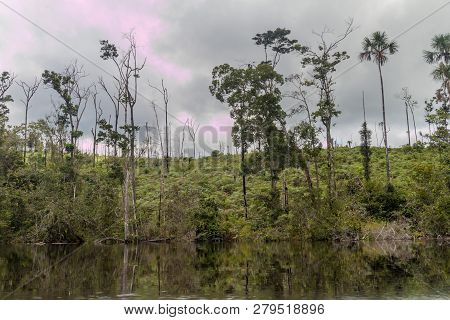 River Carrao In National Park Canaima, Venezuela.