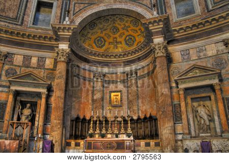 Innerhalb der Pantheon