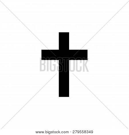 religion symbol, Catholicism icon. Element of religion symbol illustration. Signs and symbols icon can be used for web, logo, mobile app, UI, UX poster