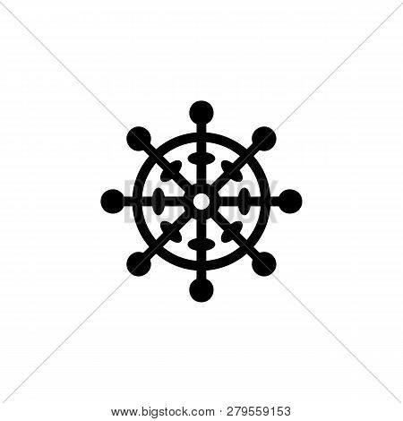 Religion Symbol, Buddhism Icon. Element Of Religion Symbol Illustration. Signs And Symbols Icon Can