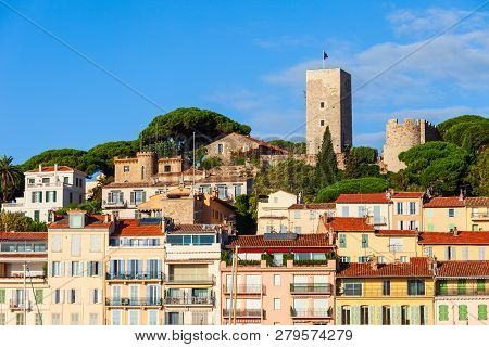 Castre Museum Or Musee De La Castre In Cannes City In France