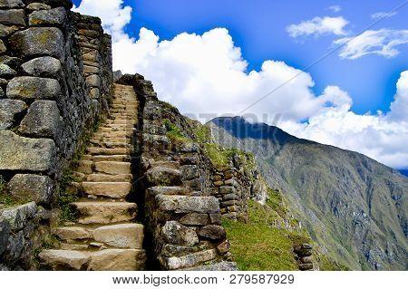 The Machu Picchu Inca Ruins - Peru