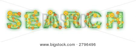 Floral Text. Search