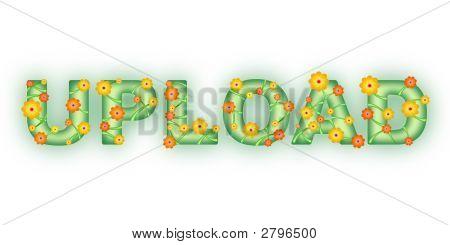Floral Text. Upload