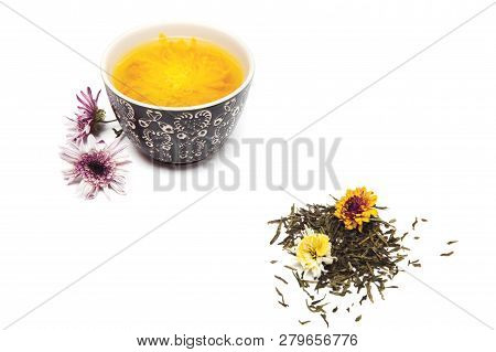 Tea Ceremony On White Background Aesthetic Green Tea Poster Id 279656776