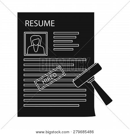 Isolated Object Of Form And Document Symbol. Collection Of Form And Mark Stock Vector Illustration.