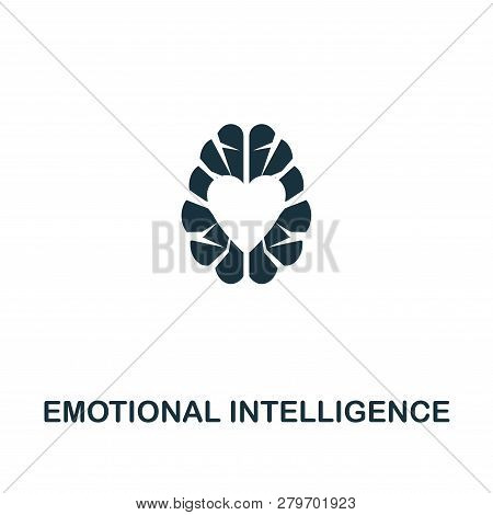 Emotional Intelligence Icon. Premium Style Design From Personality Icon Collection. Pixel Perfect Em
