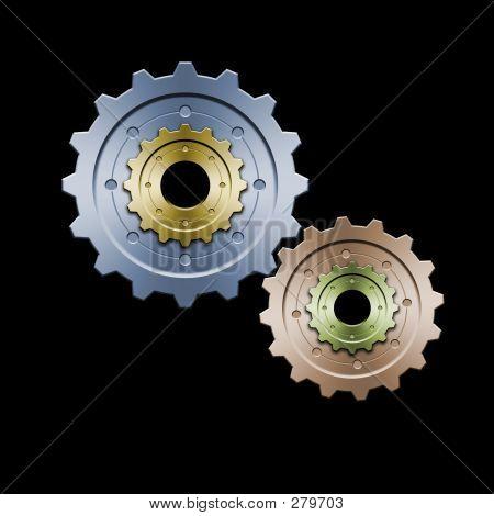 Gears (color Version)