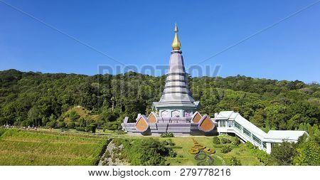 Chiang Mai, Thailand, December 27. Doi Inthanon National Park On December 27, 2018, Near Chiang Mai,