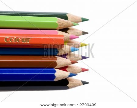 Colour On Crayons
