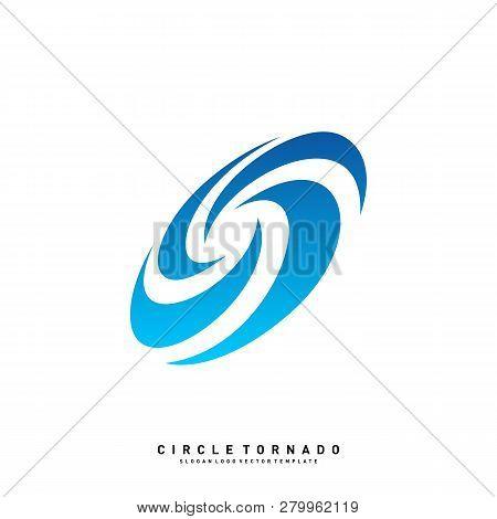 Vortex Logo Design Concept Vector. Hurricane Icon. Tornado Logo Symbol