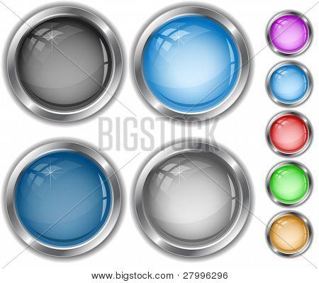 Vector internet buttons