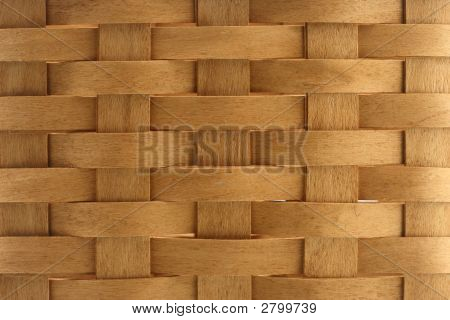 Texture Of Wicker Basket