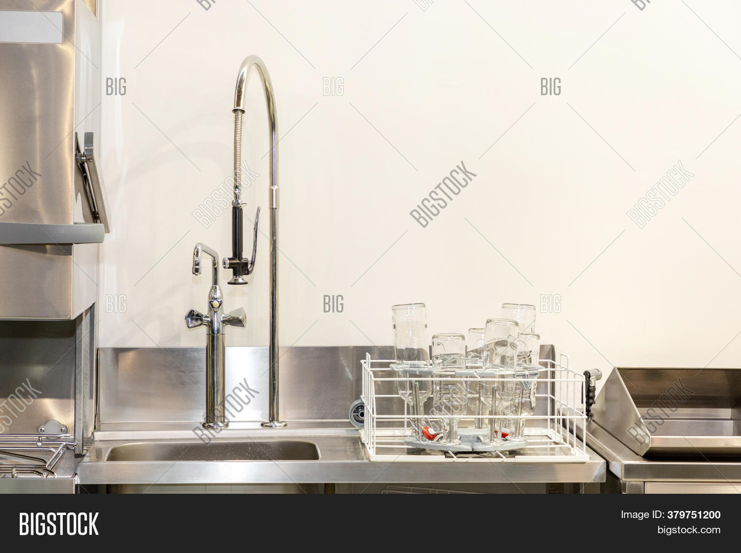 Commercial Kitchen Image Photo Free Trial Bigstock