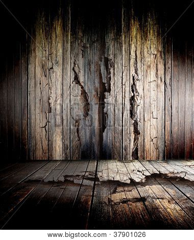 abstract the old wood floor for background poster