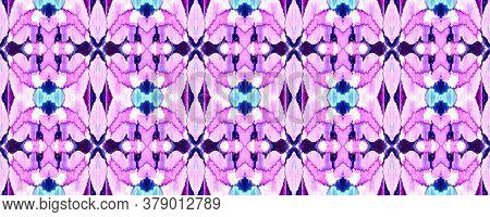 Vibrant Geometric Swimwear Pattern. Ethnic Seamless Pattern. Geo Portugese Ikat Rapport. Watercolor